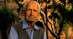 Geoffrey Langlands at Aitchison College, Lahore: a British officer who stayed in Pakistan after his military service, he  became one of the country's most celebrated educators. Photograph:  Max Becherer/New York Times