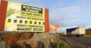 If the UK exits without a deal at the end of March it would be physically, administratively and politically impossible for the Irish Government to put in place any type of monitoring on the Border. Photograph: Getty Images