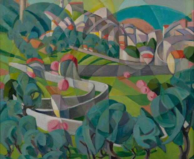 Cubist Landscape, 1928, Private Collection, courtesy Adam's, Dublin