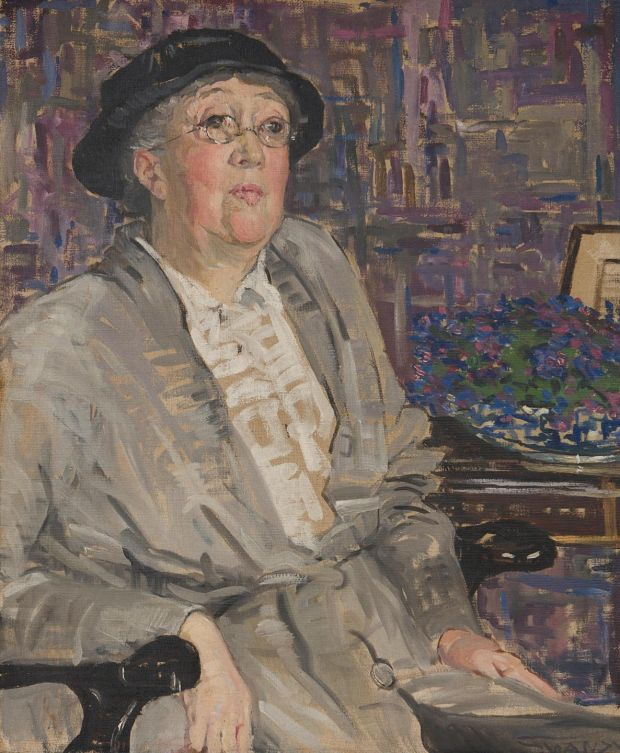 Portrait of Gertrude Jekyll, c 1910. Private Collection