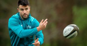 Conor Murray has opened up about the rumours surrounding his five month absence at the start of this season. Photograph: Oisin Keniry/Inpho