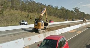 The upgrade involves widening the road from two to three lanes in both directions to ease congestion. File photograph: Google Street View