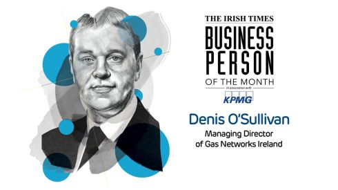'The Irish Times' Business Person of the Month: Denis O'Sullivan