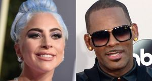 "Lady Gaga and R Kelly: ""What I am hearing about the allegations against R Kelly is absolutely horrifying and indefensible.""  Photographs: AFP/Getty Images"