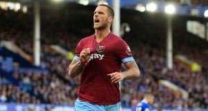 Marko Arnautovic: it is understood he would earn about £40 million over his four-year contract under the offer. Photograph: Peter Byrne/PA Wire