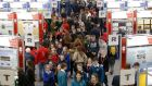 BT Young Scientist & Technologist of the Year Exhibition: drew more than 15,000 people to the RDS on Thursday. Photograph: Nick Bradshaw