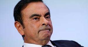 Tokyo prosecutors are expected to indict Carlos Ghosn, who has maintained his innocence, on charges of aggravated breach of trust. Photograph: Reuters
