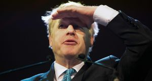 "Britain's Conservative MP and former foreign minister Boris Johnson at the Pendulum Summit in Dublin on January 10th: denies he is ""hungering or thirsting"" for Britain to exit the EU without a formal withdrawal agreement. Photograph: Paul Faith/AFP"