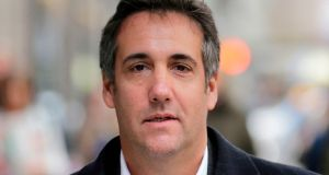 Michael Cohen could soon share many of the machinations of Trump's inner circle. Photograph: Seth Wenig/AP Photo