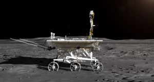 An artist impression of the rover for China's Chang'e-4 lunar probe.