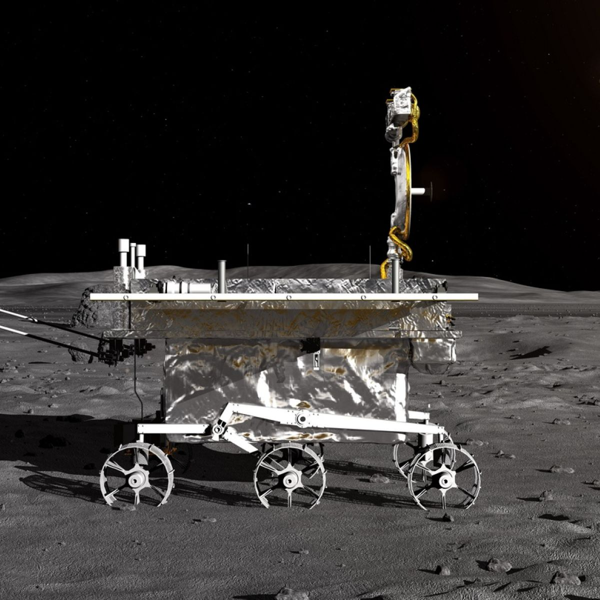 Thrilling' video of moon landing by Chinese rover released