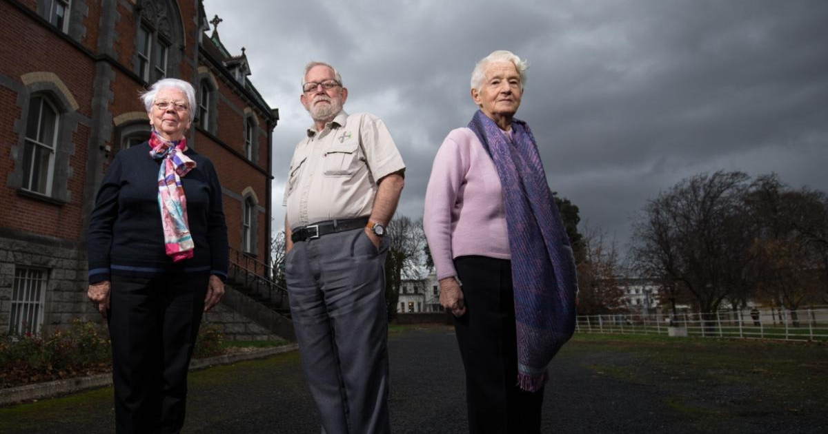 Mary Dillon, Greg Kennedy and Marie Galvin. Photograph: Tom Honan