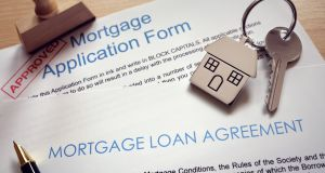 In the year to the end of November, there was a 22% increase in the value of mortgage agreements to €7.7bn. Photograph: iStock