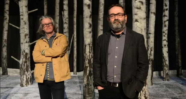 Abbey Theatre: Graham McLaren and Neil Murray took over in January 2017. Photograph: Dara Mac Dónaill