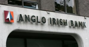 Anglo Irish Bank premises on St Stephen's Green in Dublin. Anglo was renamed Irish Bank Resolution Corporation (IBRC) and put into liquidation in early 2013. Photograph:   Frank Miller