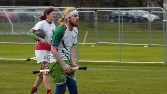 Quidditch players gather in Dublin for European broomstick event