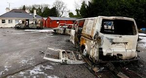 An organised attack on a KBC bank eviction party on December 16th at the McGann family home in Falsk, Strokestown, triggered the Garda inquiry. File photograph: Brian Farrell