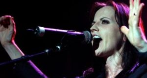Dolores O'Riordan was found dead in a bath in her room at London's Park Lane Hilton on January 15th, 2018 aged 46. Photograph: EPA