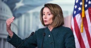 US speaker of the House Democrat Nancy Pelosi has her work cut out to discipline the world's brattiest 72-year-old . Photograph: Michael Reynolds/EPA