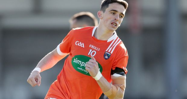 b1c2098fe6c1 Armagh captain Rory Grugan scored the winning point against Donegal in the  Mckenna Cup semi-