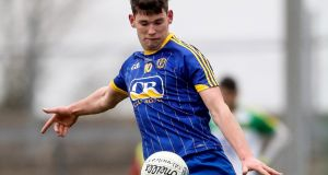 Roscommon's Shane Killoran netted their opening goal of the game. Photo: Tommy Dickson/Inpho