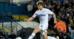 "Patrick Bamford of Leeds United. ""He's a goal-scorer; he's a proven goal-scorer, technically a very good finisher, and we haven't got that many."" Photograph:Getty Images"