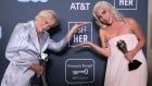 Glenn Close and Lady Gaga tie for Best Actress at Critics' Choice Awards