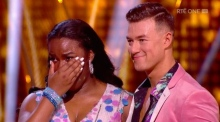 Demi Isaac Oviawe emotional after Dancing with the Stars debut