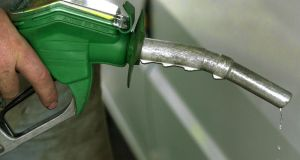 Almost 65 per cent of the cost of each litre of petrol sold in Ireland is made up of taxes. File photograph:  PA Photo