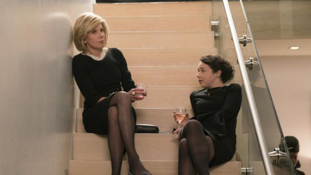 Christine Baranski and Sarah Steele in The Good Fight