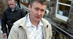 File photograph of Dessie O'Hare who  pleaded guilty at the non-jury Special Criminal Court to assault and false imprisonment in Dublin. Photograph: Colin Keegan / Collins