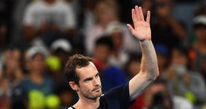 Andy Murray after losing to Roberto Bautista Agut of Spain at the Australian Open. Photograph: EPA