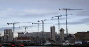 The year-end take-up figure of 304,530sq m was boosted by a number of pre-letting transactions, said Garrett McClean, executive director and head of industrial and logistics at CBRE. Photograph: Nick Bradshaw/The Irish Times