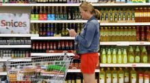 Prices in the food and grocery sector are at the same level now as they were in 2000, according to Retail Ireland. Photograph: Neil Hall/Reuters