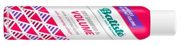 Batiste dry shampoo and volume, €4.99 at Boots