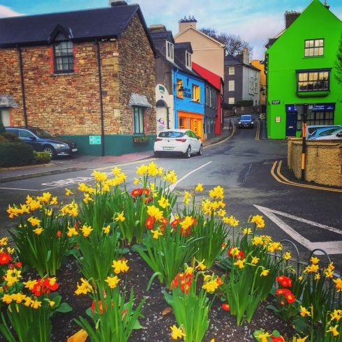 Lots of colour in Kinsale on January 12th. Photograph: Richard  Bradfield