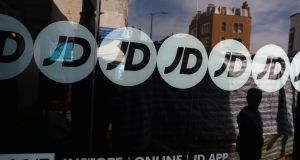 JD Sports reports a growth in sales for 48-week period until January 5th. Photograph: Reuters/Neil Hall/File Photo