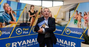 Ryanair chief executive Michael O' Leary has said he would remove voting rights from non-EU shareholders following Brexit if that is required to meet EU rules on ownership. Photograph: Cyril Byrne