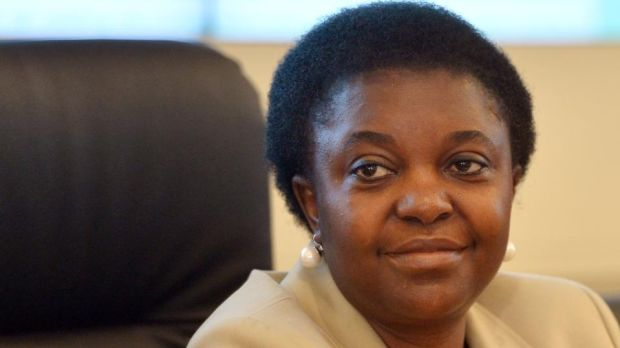 Cécile Kyenge was integration minister in 2013. File photograph: Alberto Pizzoli/AFP/Getty Images