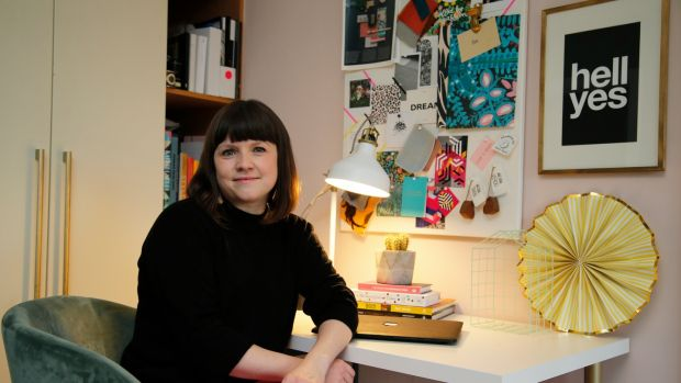 "Elaine Verdon on making the move to interior design: ""I wish I'd done it years ago."" Photograph: Nick Bradshaw/The Irish Times"