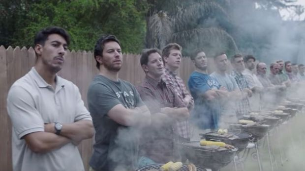 From Gillette's We Believe: The Best Men Can Be commercial