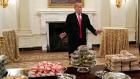 Trump orders 'one thousand hamburgers' to White House