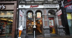 A Supermac's outlet in Dublin. Photograph: Brenda Fitzsimons/The Irish Times