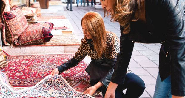 pile your money into a Persian carpet