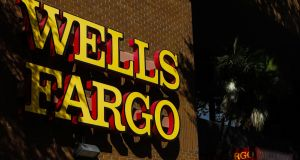Wells Fargo: Bank has faced regulatory scrutiny, fines and lawsuits since a scandal in 2016. Photograph: Eve Edelheit/Bloomberg