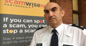 PSNI Chief Superintendent Simon Walls urged the public to be vigilant for online and phone scammers.