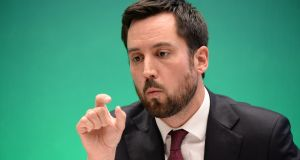 Minister for Housing, Planning and Local Government Eoghan Murphy  said that while Limerick East and West met the criteria Limerick city north did not. Photograph: Dara Mac Donaill