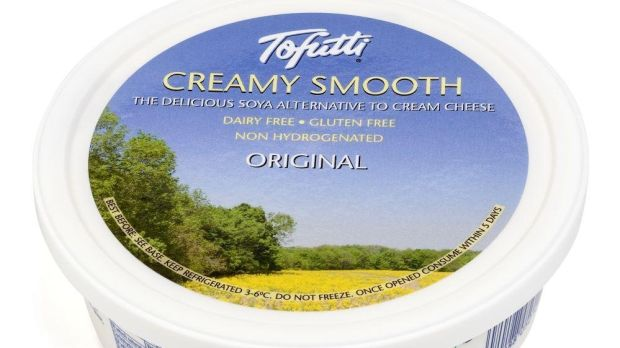 Gloopy: Tofutti Creamy Smooth, describes itself as 'the delicious soya alternative to cream cheese'