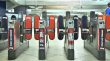 Ticket barriers on the London Underground: substantially more frictionless than Brexit. Photograph: Dominic Lipinski/PA