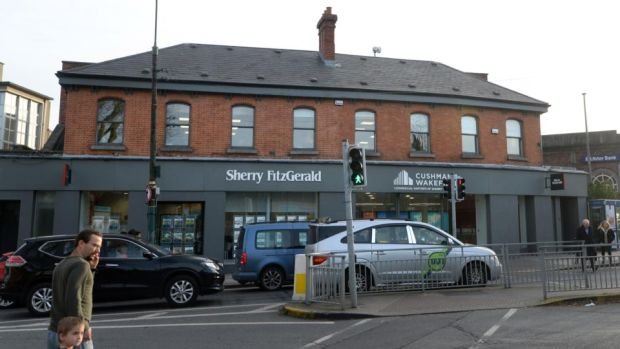 Trading places: Sherry FitzGerald's remaining residential and new-homes staff are leaving the premises now occupied by Cushman & Wakefield. Photograph: Dara Mac Dónaill
